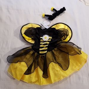 Bumble Bee costume 9/12 months